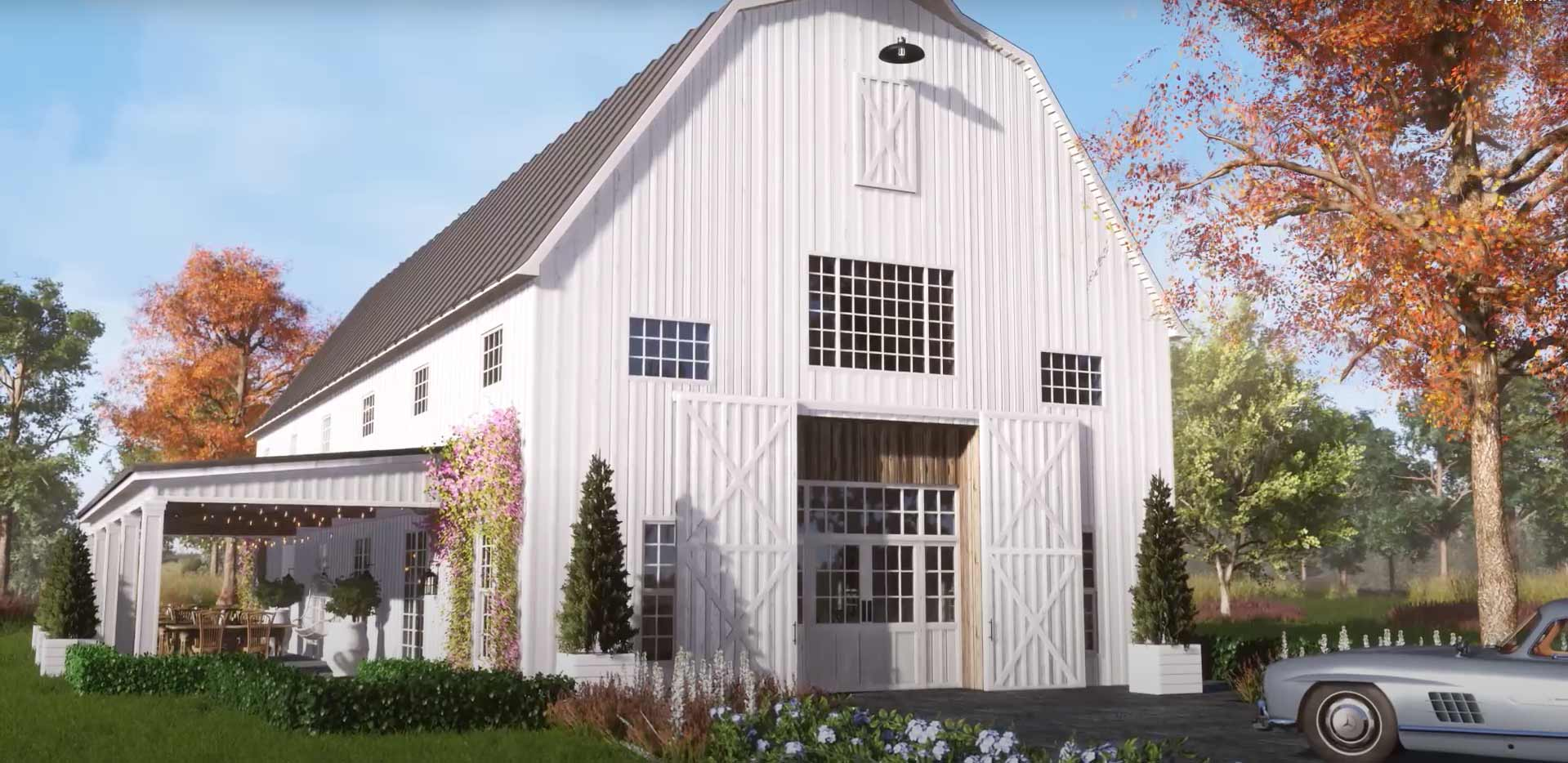 Homefront Special Events Barn Exterior