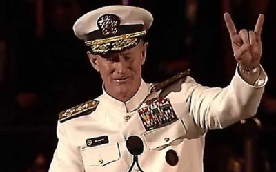 Admiral McRaven Leaves the Audience SPEECHLESS