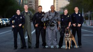 Diverse Group of Police Officers